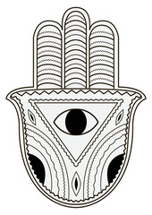 Hamsa.Vector illustration