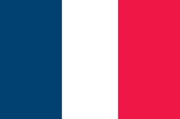 France vector flag