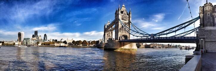 Garden Poster London london tower bridge panorama
