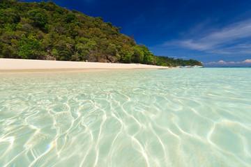 Seascape of Koh Rok island, Krabi, Thailand.