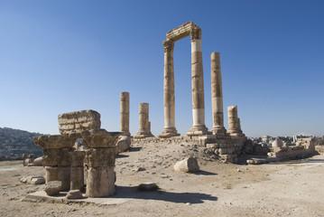Temple of Hercules, Amman Citadel, Jordan