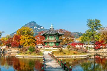 Naejangsan National Park in Autumn,South Korea