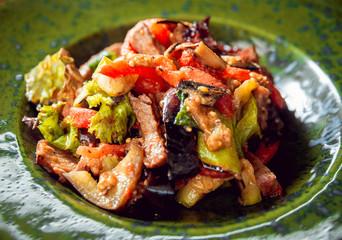 salad of grilled vegetables