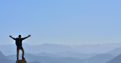 Dağlara Kucak Açan Maceracı