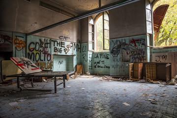 Ambulatorio abbandonato