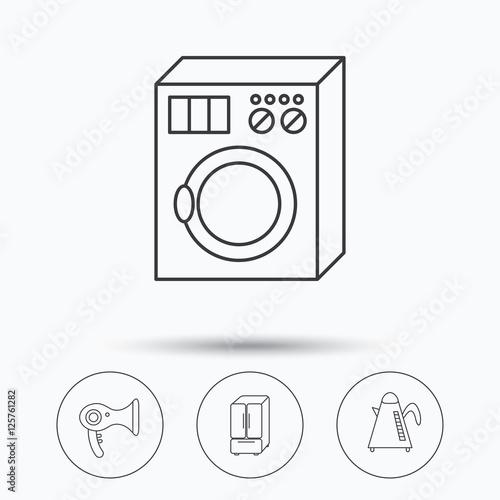 american style washing machine