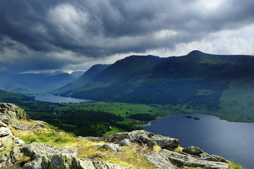 Storm over Buttermere