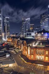 Night Tokyo Station