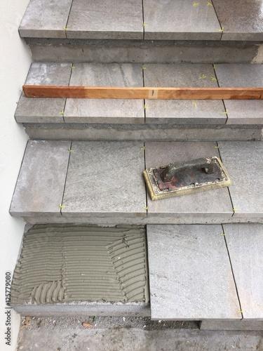 piastrellista piastrella posa piastrelle pavimento lavoro \