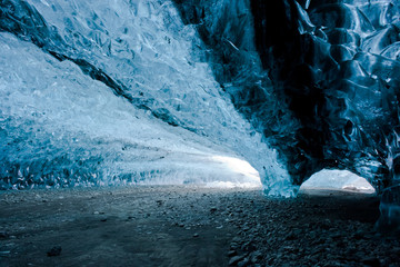 ice cave - iceland