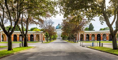 Zentralfriedhof Cemetery in Vienna, Austria