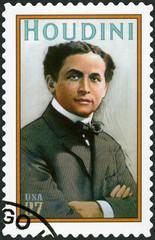 USA - 2002: Harry Houdini (1874-1926), Erik Weisz, Magician