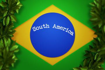 South America Brazil Background