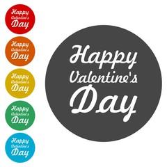 Valentine's day holiday illustration