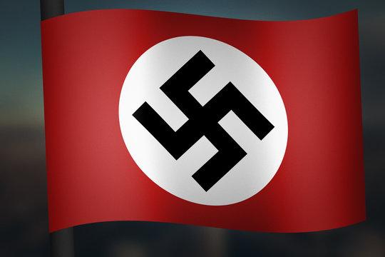 Nazi Germany Flag World War 2 Graphic WWII