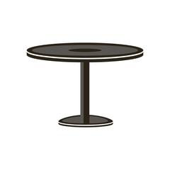 Table icon vector