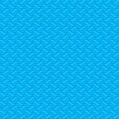 Seamless pattern. Stylized pattern of ocean surface