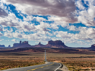 Monument Valley Navajo National Monument in Utah Arizona,