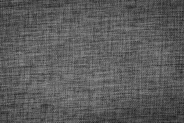 texture of black, tight braid fabric