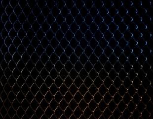 photo of metal mesh