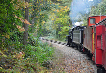 Smoky Mountain Railway, North Carolina, USA