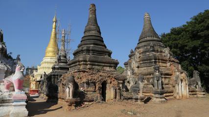 Pagoda, Ma-U-Ale,Myanmar