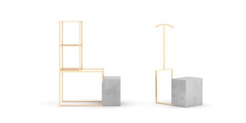Blank luxury display, original design