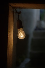 The bulb in the basement