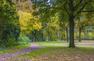 Herbst in Pellens-Park in Bremen