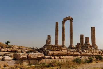 Temple of Hercules on the Citadel, Amman, Jordan