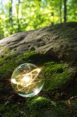 Atom Crystal Ball Nature