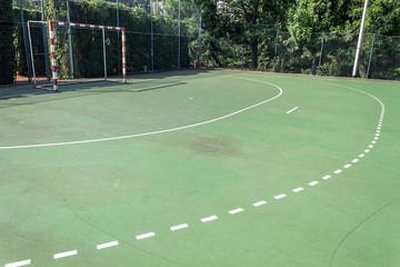 Handball outdoors court