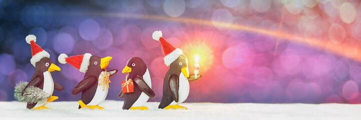 Penguin Christmas  Parade