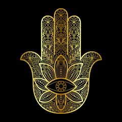 Hamsa Hand of Fatima Amulet