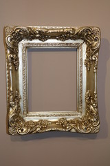 Vintage blank frame for paintings
