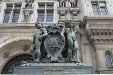 City government,  city hall Paris