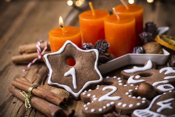 Weihnachtskekse Advent 1