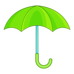 Umbrella icon. Cartoon illustration of umbrella vector icon for web design