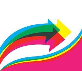 Colored Template Design