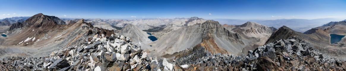 360 Degree Sierra Mountain Panorama
