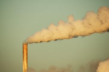 Smokestack And Smoke
