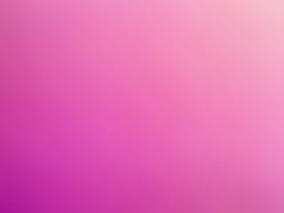 Abstract gradient pink white colored blurred background