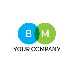 simple initial two circle BM