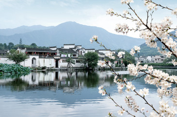 The ancient village of Hongcun, Anhui, China.
