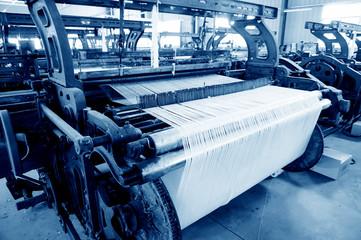 Old weaving machine