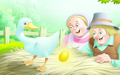 the goose and the golden egg story 67