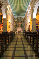 Interior of Metropolitan Cathedral of Our Lady of the Assumption