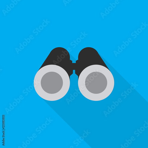 binoculars icon flat - photo #8