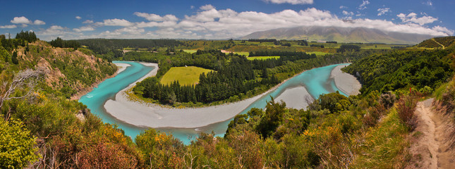 River Gorge at New Zealand