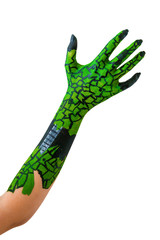 Hand - Bodypainting - Halloween - Fasching - Monster -Reptil